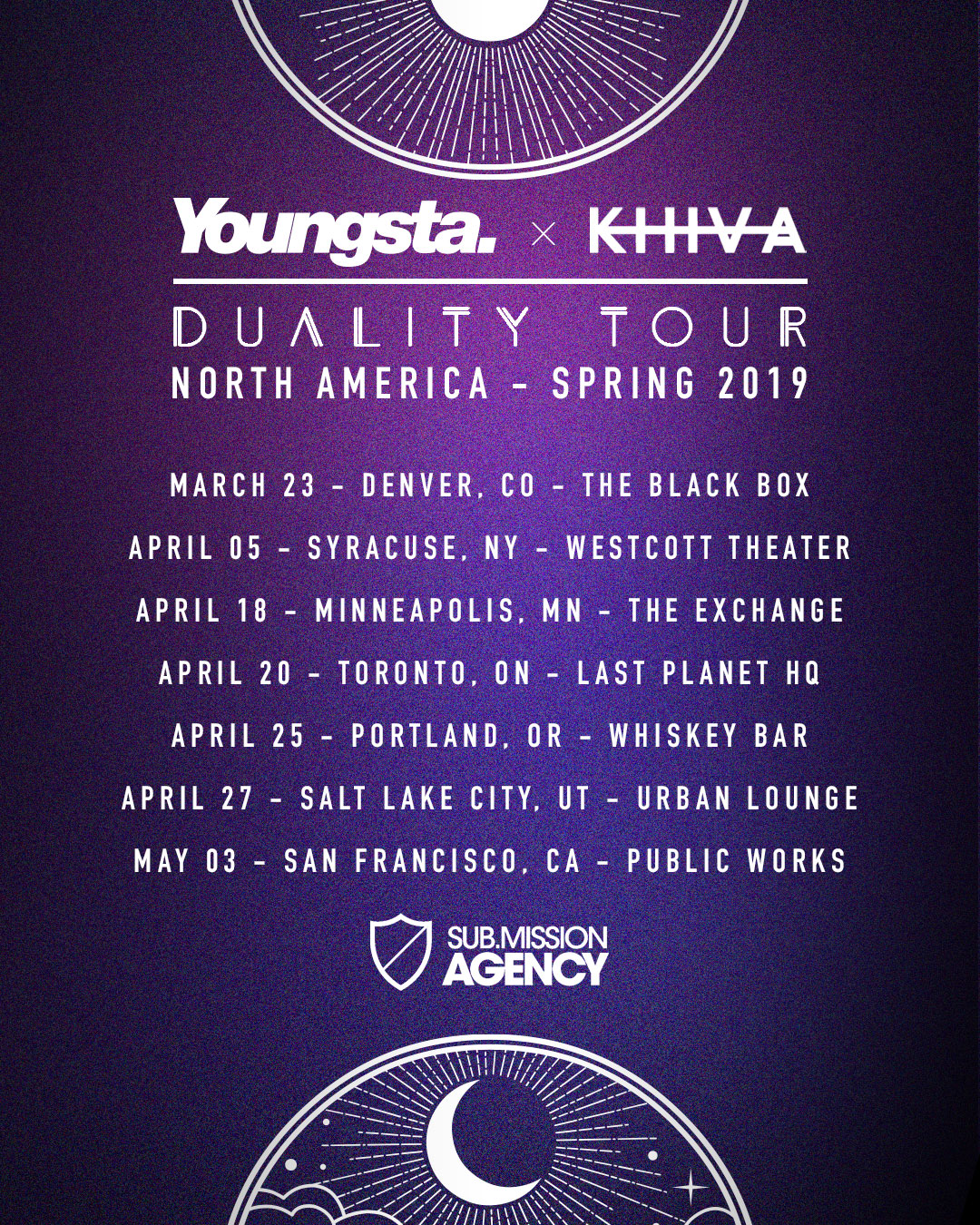 Youngsta x Khiva - Duality Tour