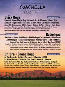 Coachella 2012 Lineup Announced Preview