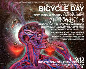 RE:CREATION Bicycle Day 2013 San Francisco Celebration & Compilation Preview