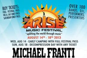 ARISE Music Festival (Aug 14-18 Loveland, CO) Preview Preview
