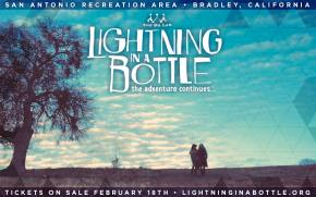 Watch the official video for Lightning in a Bottle 2014! Preview