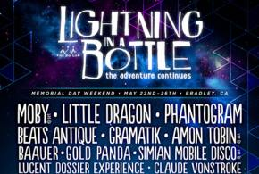Lightning in a Bottle (May 22-26 - Bradley, CA) reveals lineup! Preview