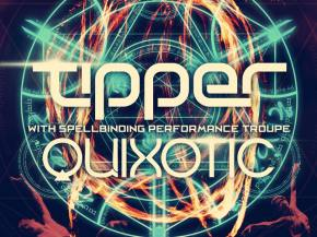 Tipper, Quixotic, Headtron bring Cirque du Freq to LA for Halloween Preview