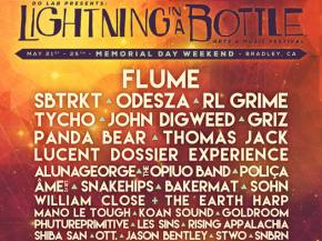 Flume, SBTRKT, Odesza headline Lightning in a Bottle 2015 Preview