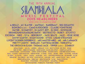Pretty Lights, Skrillex, Tipper, GRiZ headline Shambhala 2015 Preview