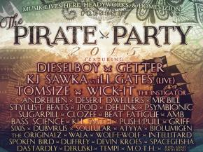 Pirate Party goes big with 2015 lineup hitting Lolo, MT July 31-Aug 1 Preview