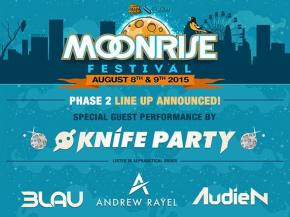 Knife Party, LOUDPVCK join Moonrise 2015 bill Baltimore, MD August 7-8 Preview