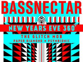 Bassnectar moves NYE to Birmingham with The Glitch Mob, Paper Diamond Preview