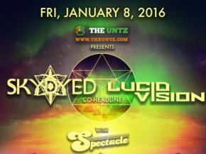 Skydyed & Lucid Vision headline Bluebird Theater in Denver January 8 Preview