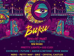 Pretty Lights, Nero, GRiZ head up Buku 2016 in New Orleans March 11-12 Preview