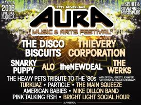 Thievery Corporation, theNEWDEAL, The Werks join AURA Music Fest 2016 Preview