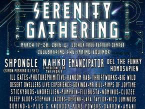 Shpongle, Random Rab, Mr. Bill join Serenity Gathering Phase 2 lineup Preview