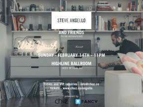 Steve Angello plays Highline Ballroom NYC Feb 14, hosts NYFW exhibit Preview