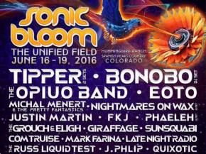 SONIC BLOOM adds FKJ, The Widdler, NastyNasty & returns to Rye, CO Preview
