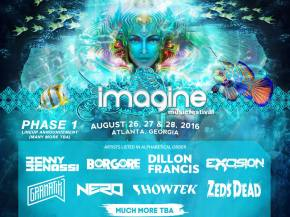 NERO, Gramatik, Excision, Pendulum top Imagine Festival Phase 1 lineup Preview
