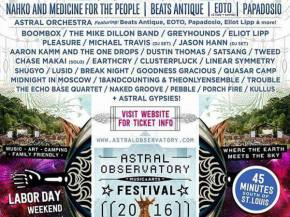 Astral Observatory is the new festival on the Labor Day Weekend block Preview
