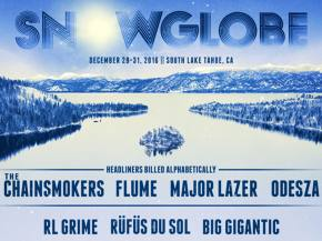 Flume, Odesza, Major Lazer among SnowGlobe 2016 headliners Preview