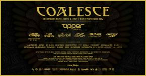 Coalesce reveals jaw-dropping psybass lineup for 3-day NYE run in SF Preview
