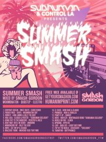 Smash Gordon Releases New Single + Summer Mix Preview