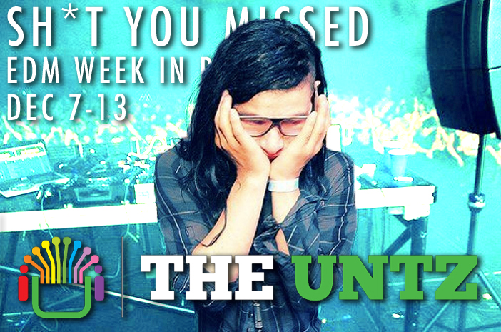 Sh*t You Missed: EDM Week in review [Dec 7-13]